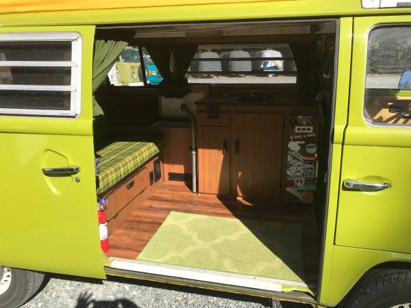 1979 79 VW Westfalia Camper Van Solar Panel Go Green Auto $24.5  For Sale (picture 5 of 6)