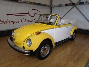 1978 Volkswagen Beetle 1303 Cabrio 1.6L inj. Two Tone For Sale