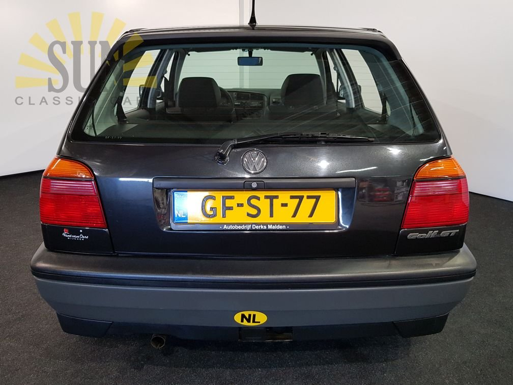 Volkswagen Golf GT 1993, nur 17.303 originale Kilometer For Sale (picture 4 of 6)