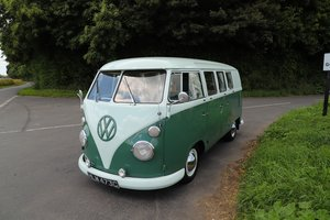 1965 VW Split Screen Camper Van. Factory Right Hand Drive. For Sale