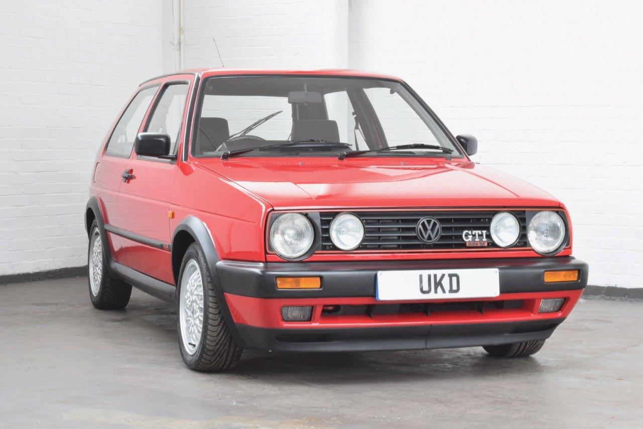 vw volkswagen golf gti 16v mk2 1 8 3dr 1992 red for sale. Black Bedroom Furniture Sets. Home Design Ideas