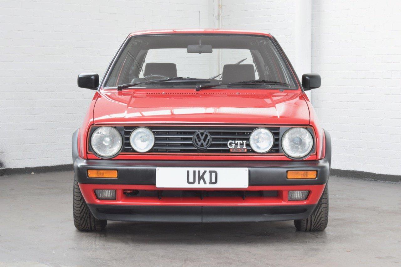 VW VOLKSWAGEN GOLF GTI 16V MK2 1.8 3DR 1992 RED For Sale (picture 2 of 12)