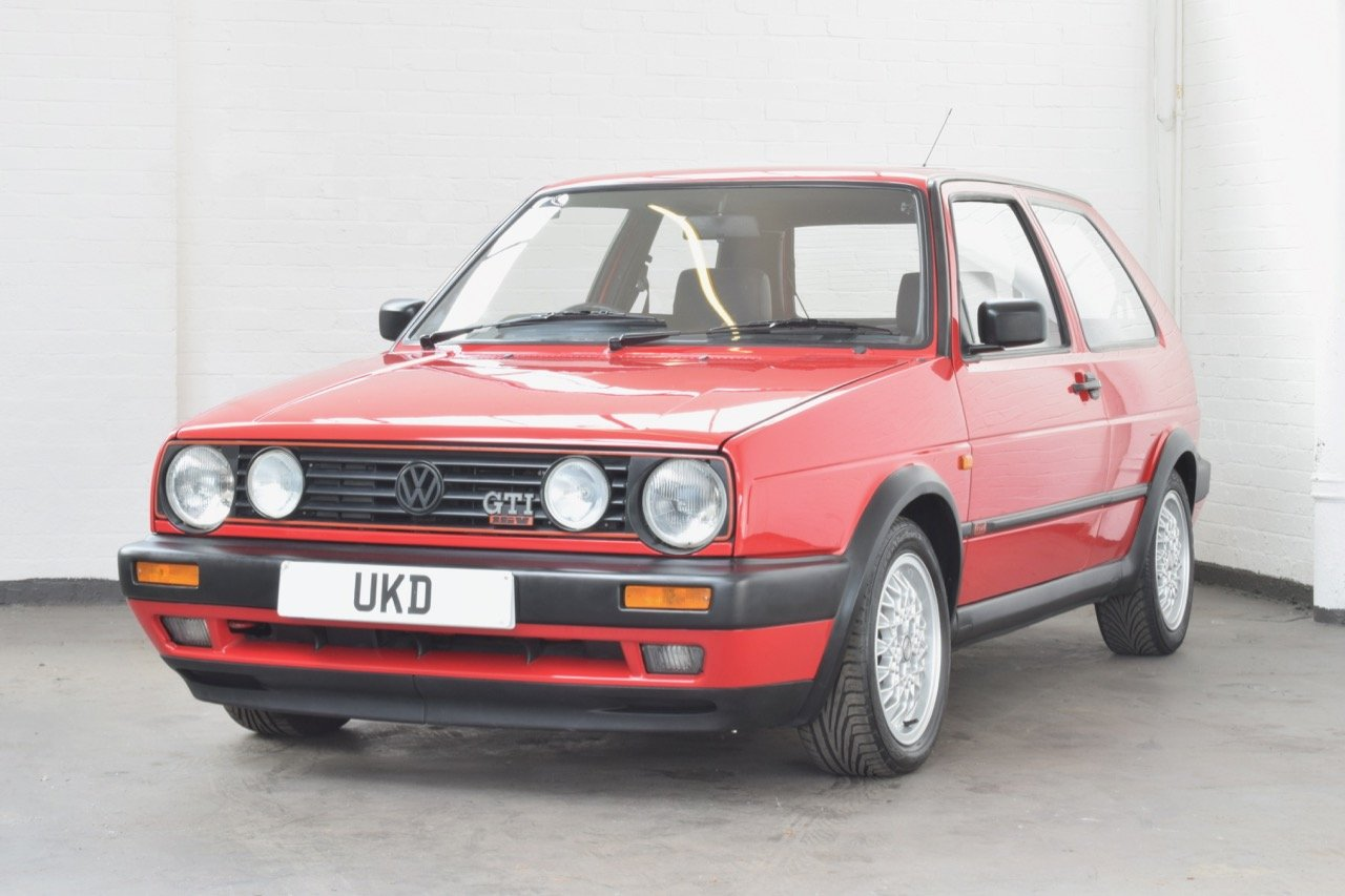 VW VOLKSWAGEN GOLF GTI 16V MK2 1.8 3DR 1992 RED For Sale (picture 3 of 12)