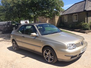 2001 Rare Automatic Convertibel VW Golf Avantgarde 2.0 For Sale