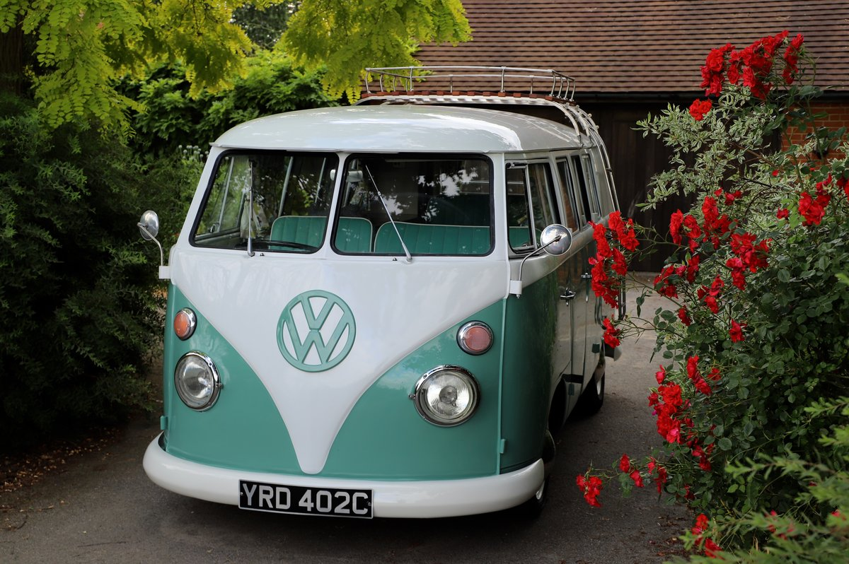 1966 VW Split Screen Camper Van. Right Hand Drive. Restored. For Sale (picture 3 of 6)