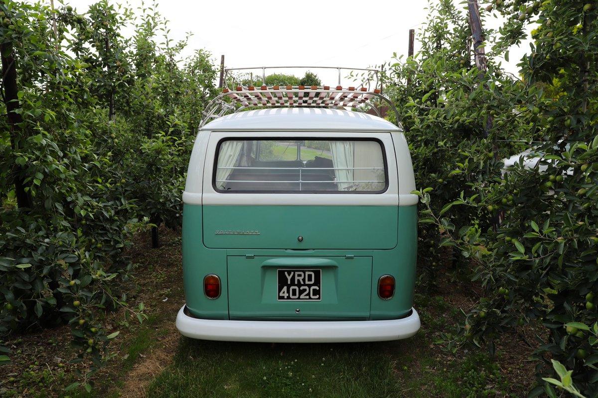 1966 VW Split Screen Camper Van. Right Hand Drive. Restored. For Sale (picture 4 of 6)