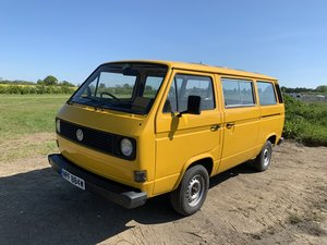 vw t25 1981 twin sliding doors Automatic For Sale