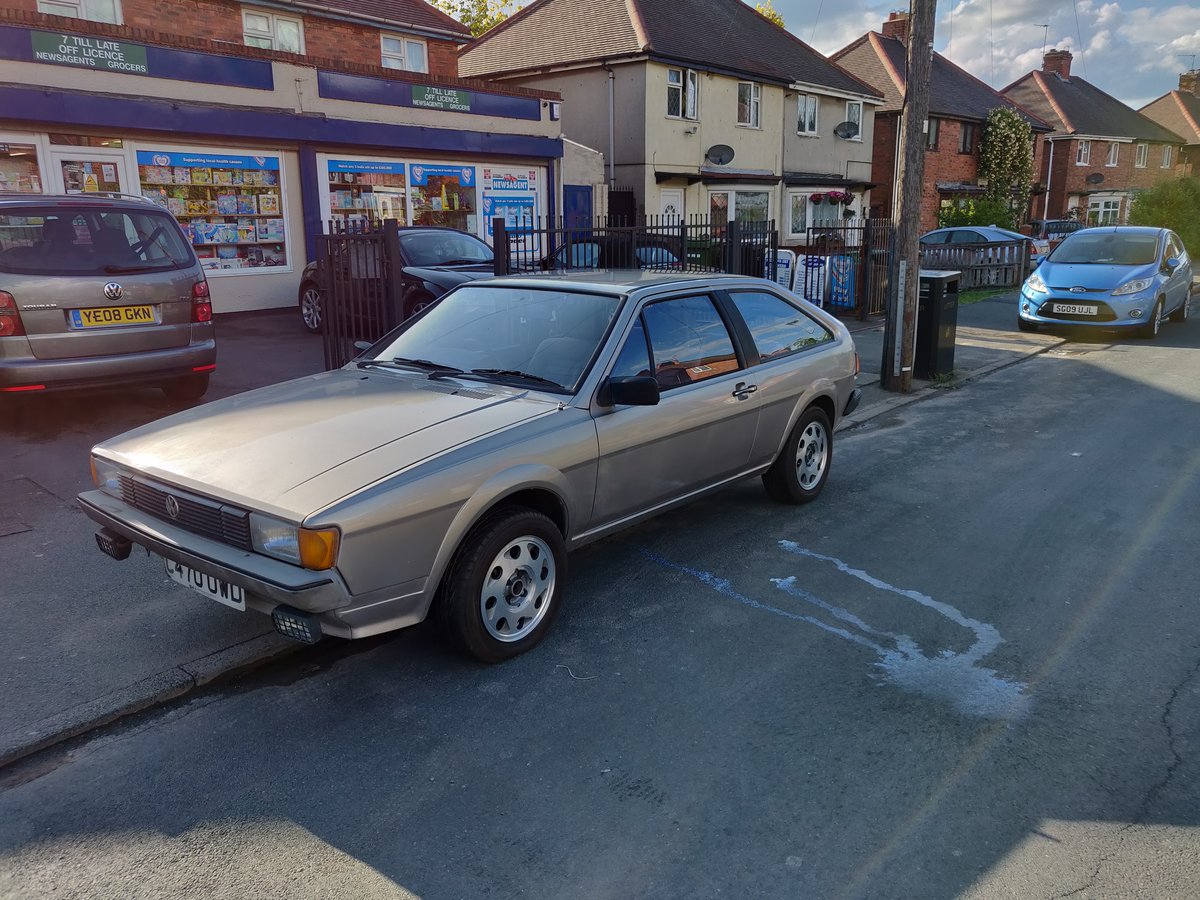 Vw scirocco gt mk2 1.6 1986 For Sale (picture 2 of 6)