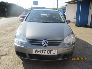 2007 FSI 1600cc PETROL 6 SPEED MANAUL GOLF 5 DOOR SMART NEW MOT  For Sale