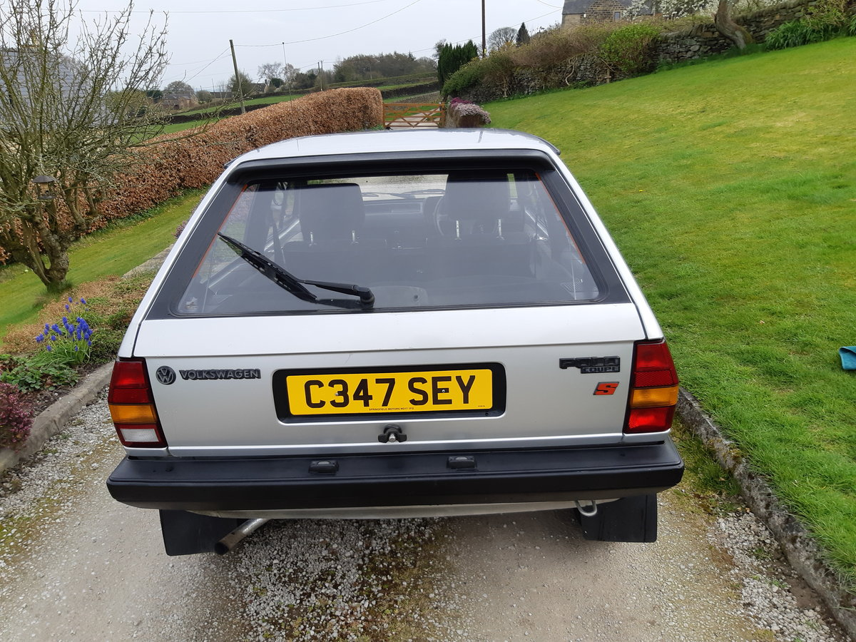 1986 Volkswagen Polo 1.3 S 3dr New MOT - Reduced Price SOLD (picture 5 of 6)