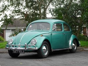 1956 Volkswagen Beetle 1200 For Sale by Auction