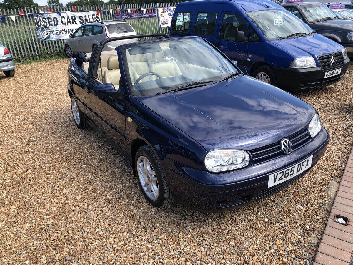 1999 Volkswagen Golf 2.0 Avantgarde 2dr For Sale (picture 5 of 6)