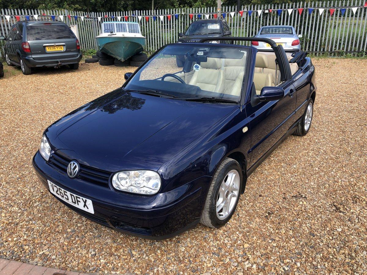 1999 Volkswagen Golf 2.0 Avantgarde 2dr For Sale (picture 6 of 6)
