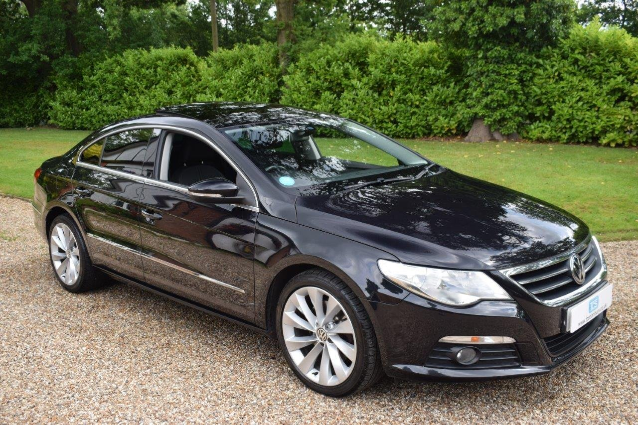 2009 VW Passat GT CC TDI 170 6-Speed Coupe SOLD (picture 1 of 6)