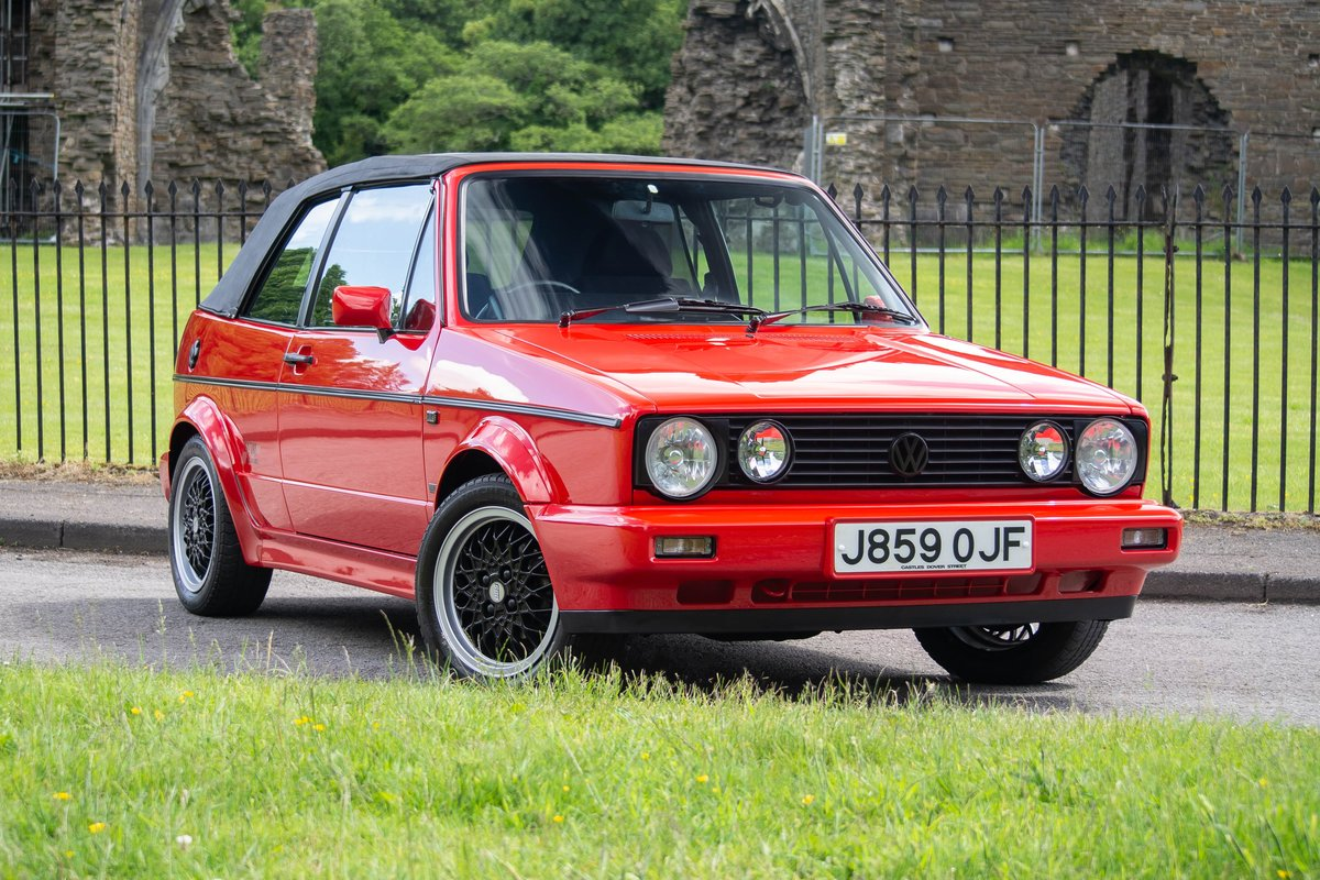1992 Volkswagen Golf GTi Sportline SOLD by Auction (picture 1 of 6)