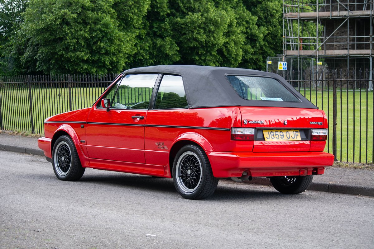 1992 Volkswagen Golf GTi Sportline SOLD by Auction (picture 3 of 6)
