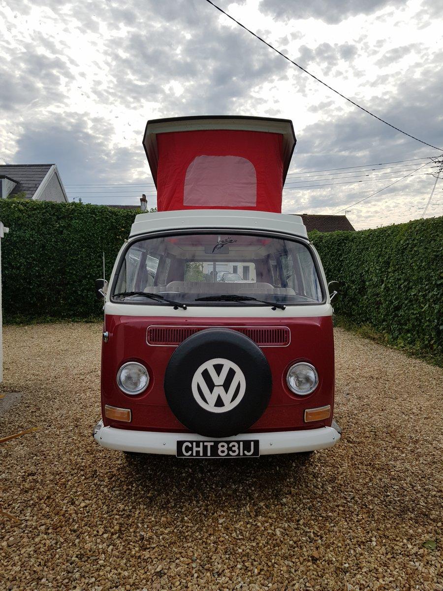 1971 Volkswagen T2 bay camper Fully restored  SOLD (picture 1 of 5)