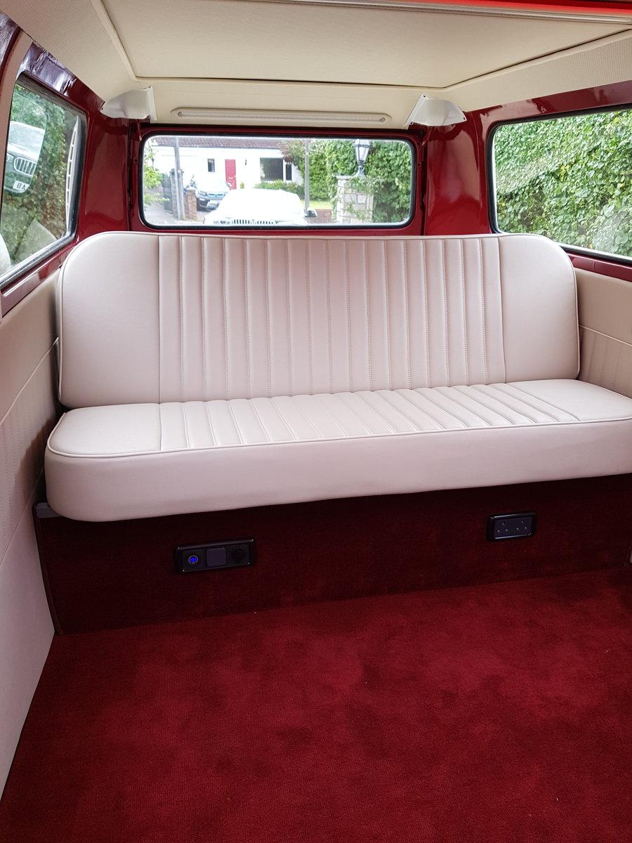 1971 Volkswagen T2 bay camper Fully restored  SOLD (picture 2 of 5)
