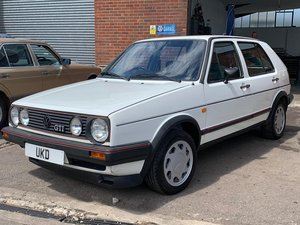VW VOLKSWAGEN GOLF GTI MK2 1.8 8V WHITE 5DR 1986 TYPE 19 For Sale