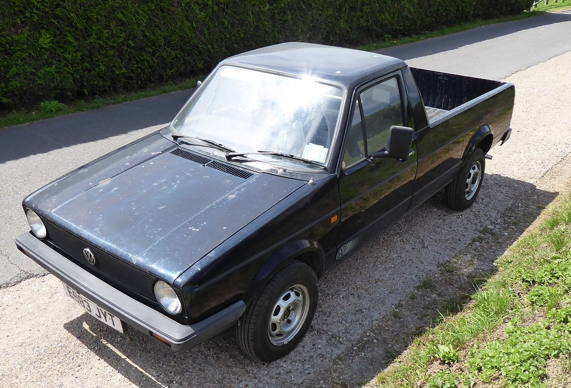 1987  VW Caddy Pickup Mk1 SOLD (picture 1 of 6)