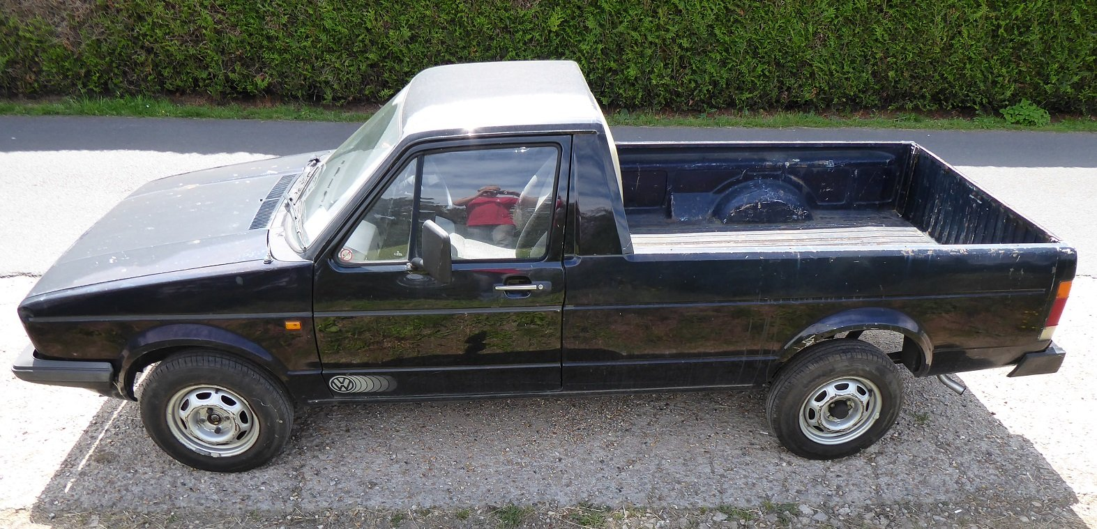 1987  VW Caddy Pickup Mk1 SOLD (picture 3 of 6)