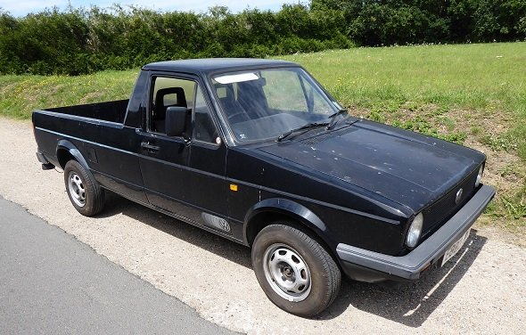 1987  VW Caddy Pickup Mk1 SOLD (picture 2 of 6)
