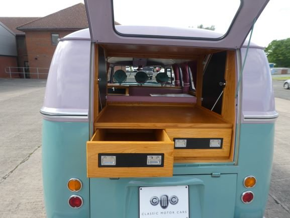 1961 VW Split Screen Camper SOLD (picture 4 of 6)