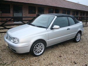 2000 Golf Avantgarde GE Conv - Barons Tuesday 16th July 2019 SOLD by Auction