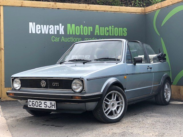1986 Golf Gti Honest Old Car With Low Reserve For Sale By Auction