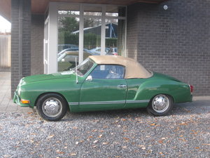 VW Karmann Ghia cabrio Model 1969 For Sale