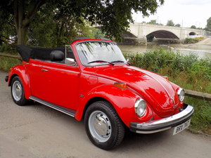 1979 Volkswagen Beetle Cabriolet by Karmann - Restored - As New SOLD