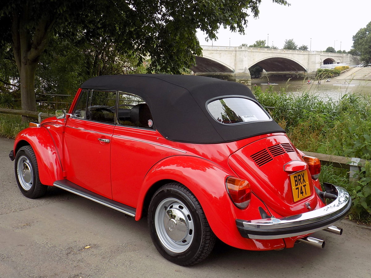 1979 Volkswagen Beetle Cabriolet by Karmann - Restored - As New For Sale (picture 2 of 6)