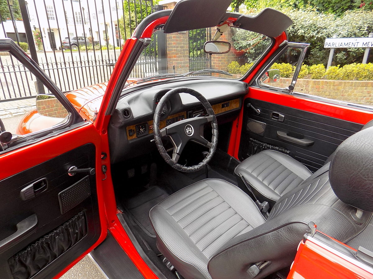 1979 Volkswagen Beetle Cabriolet by Karmann - Restored - As New For Sale (picture 3 of 6)