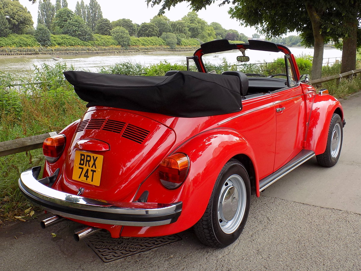 1979 Volkswagen Beetle Cabriolet by Karmann - Restored - As New For Sale (picture 5 of 6)