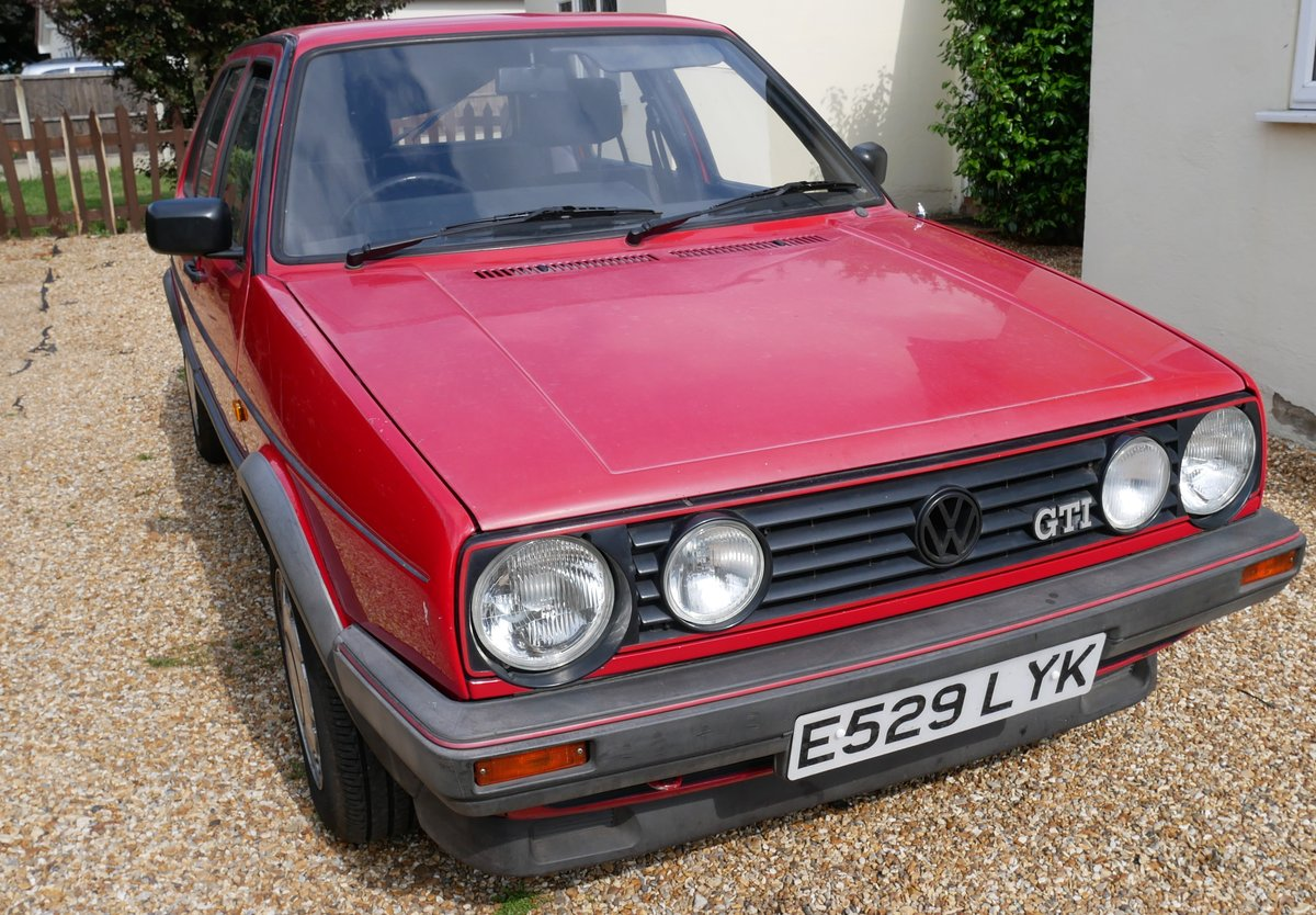 1988 VW Golf Mk2 GTI 8v Mars Red For Sale (picture 1 of 6)