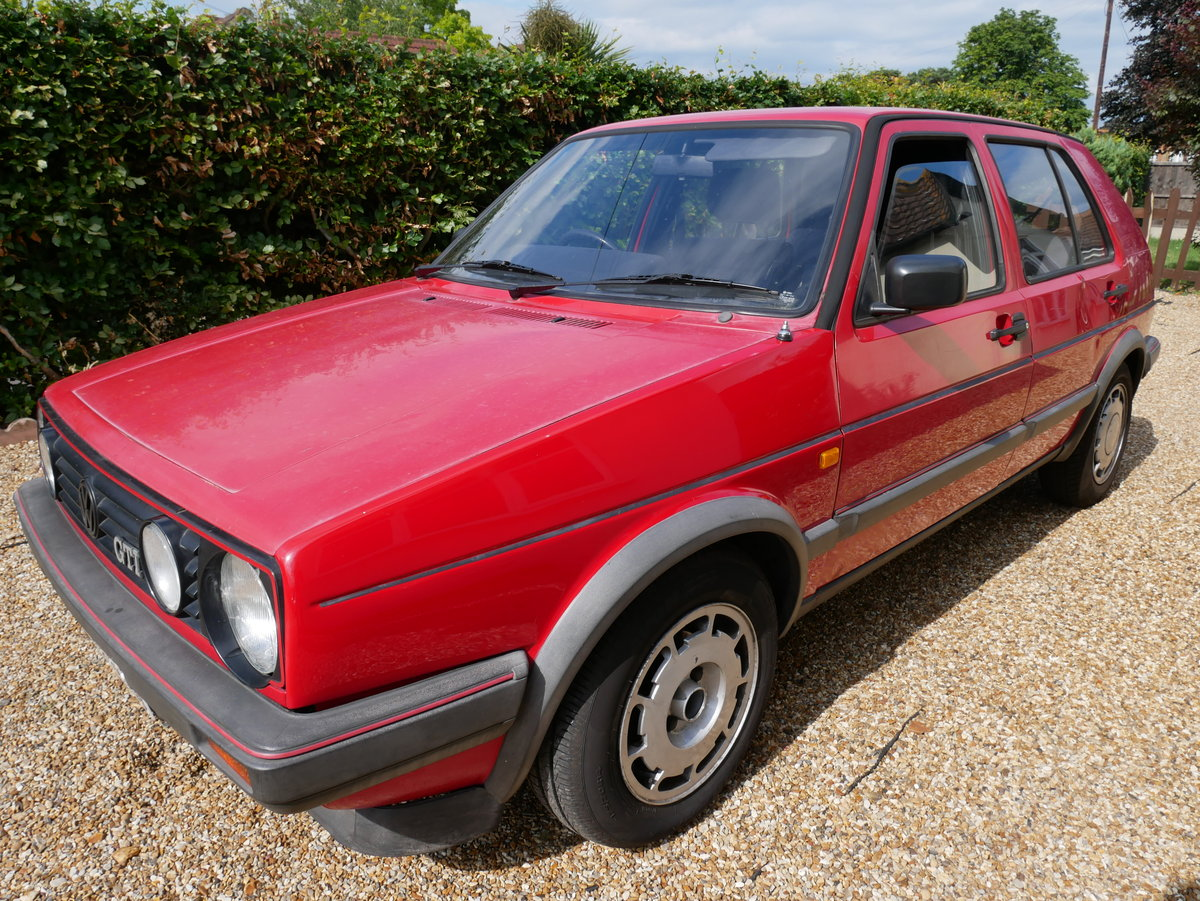 1988 VW Golf Mk2 GTI 8v Mars Red For Sale (picture 2 of 6)