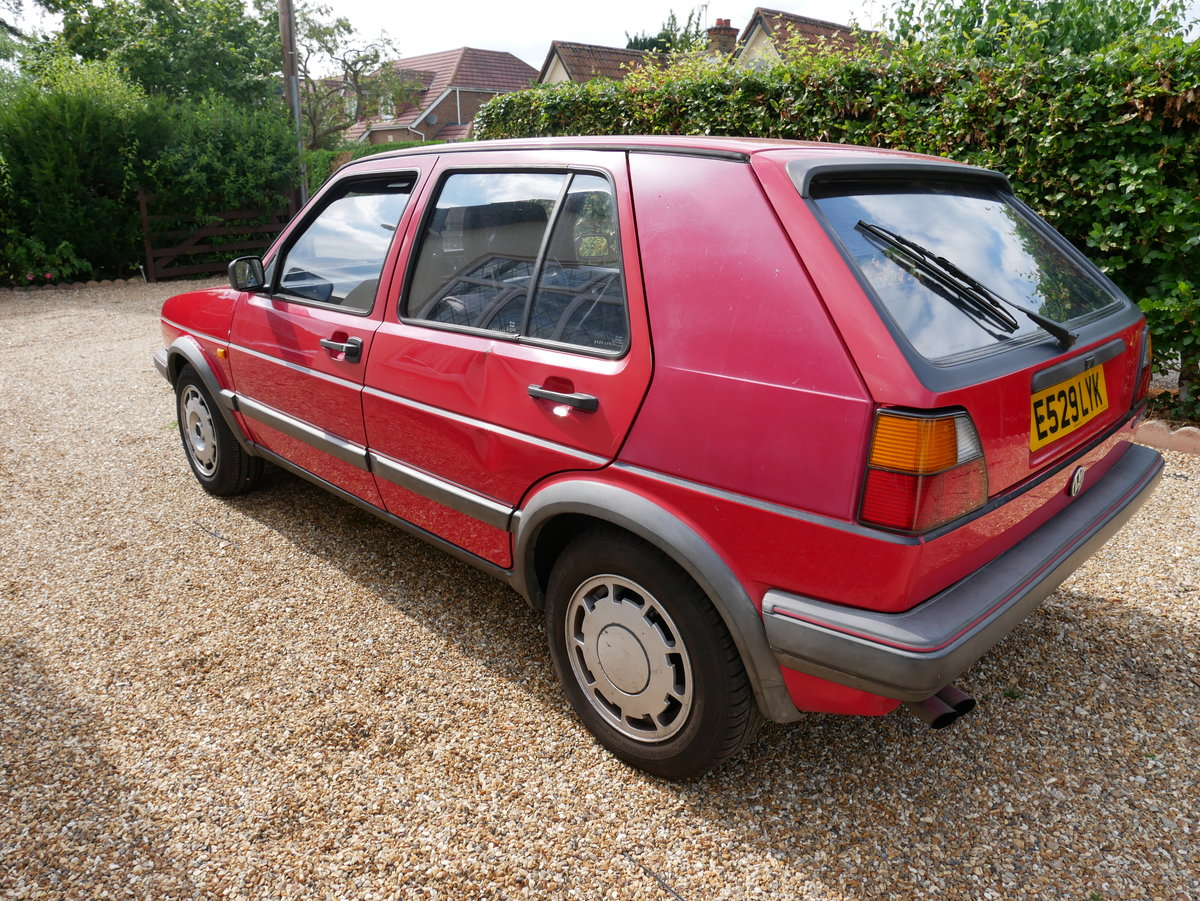 1988 VW Golf Mk2 GTI 8v Mars Red For Sale (picture 3 of 6)