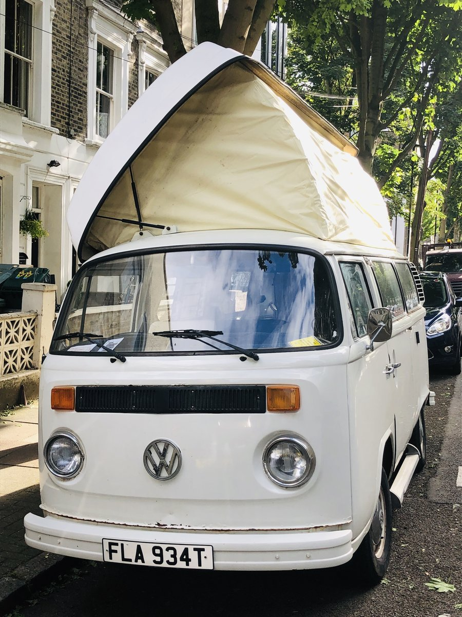 Volkswagen T2 1979 Camper van top up roof For Sale (picture 1 of 6)
