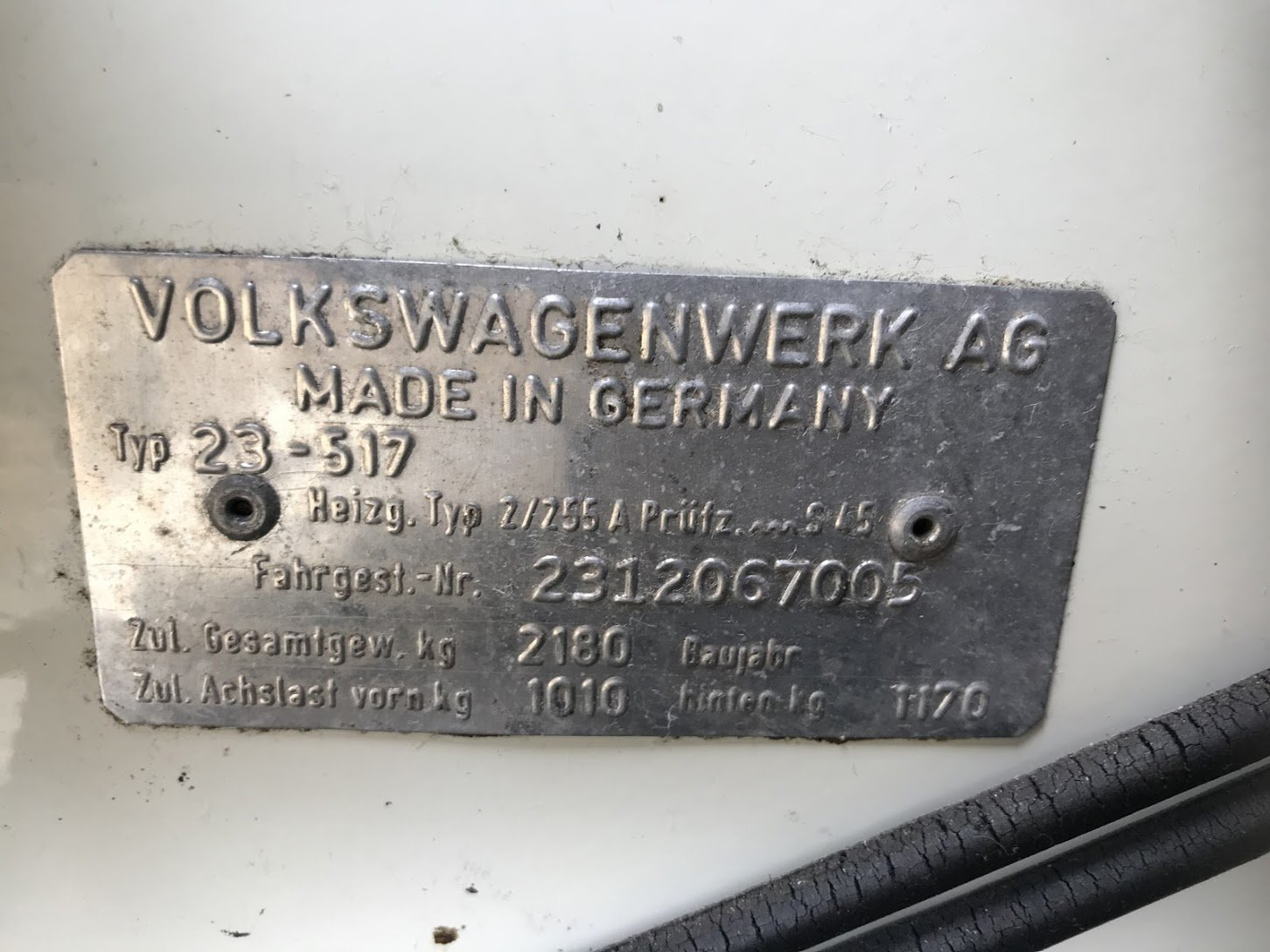 1971 Volkswagen T2A Westfalia For Sale (picture 4 of 6)