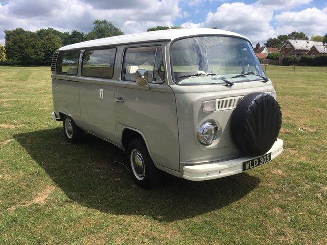1977 VW Bay Window Campervan 2.0l - Vintage Grey For Sale (picture 1 of 6)