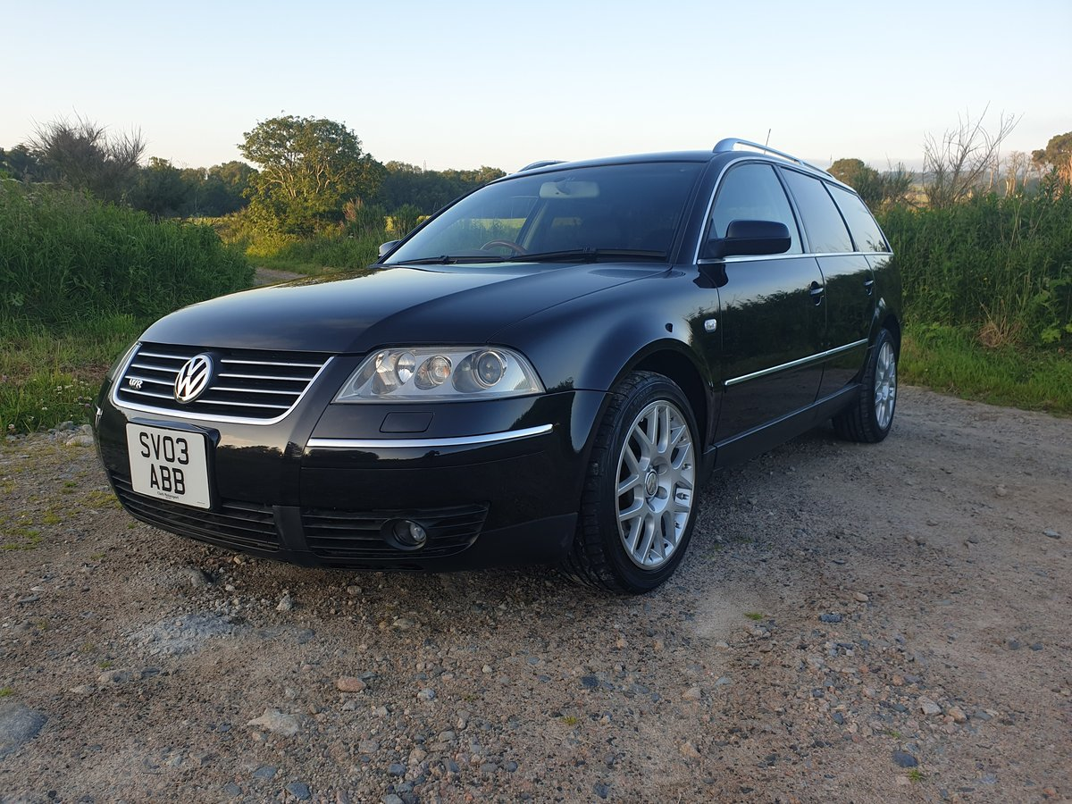 2003 Passat W8 4 Motion, Low Mileage, Immaculate. SOLD (picture 1 of 6)