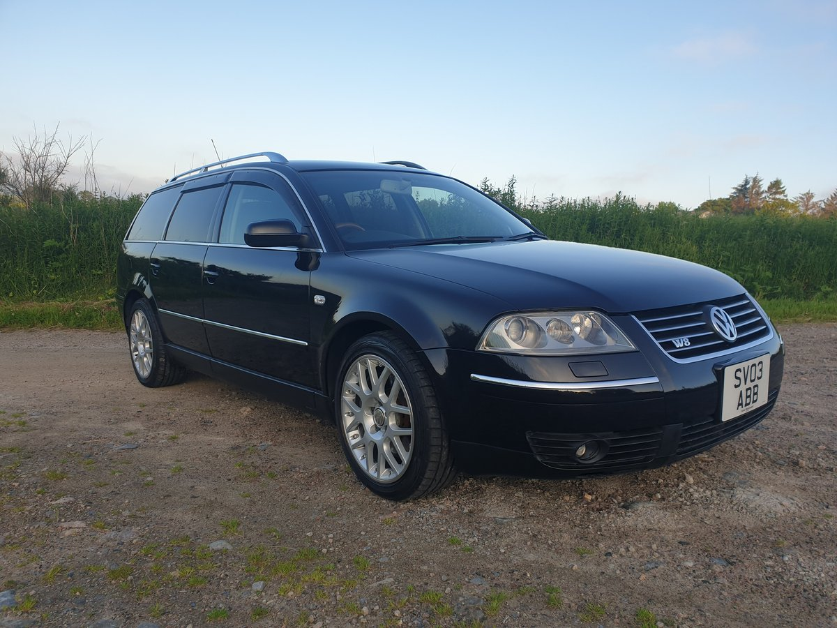 2003 Passat W8 4 Motion, Low Mileage, Immaculate. SOLD (picture 3 of 6)