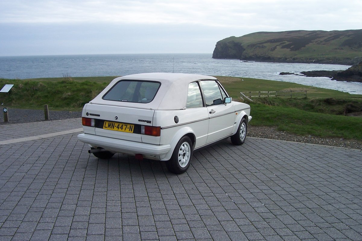 MK1 Vw Golf GTI  cabriolet, 1985 triple white For Sale (picture 4 of 6)