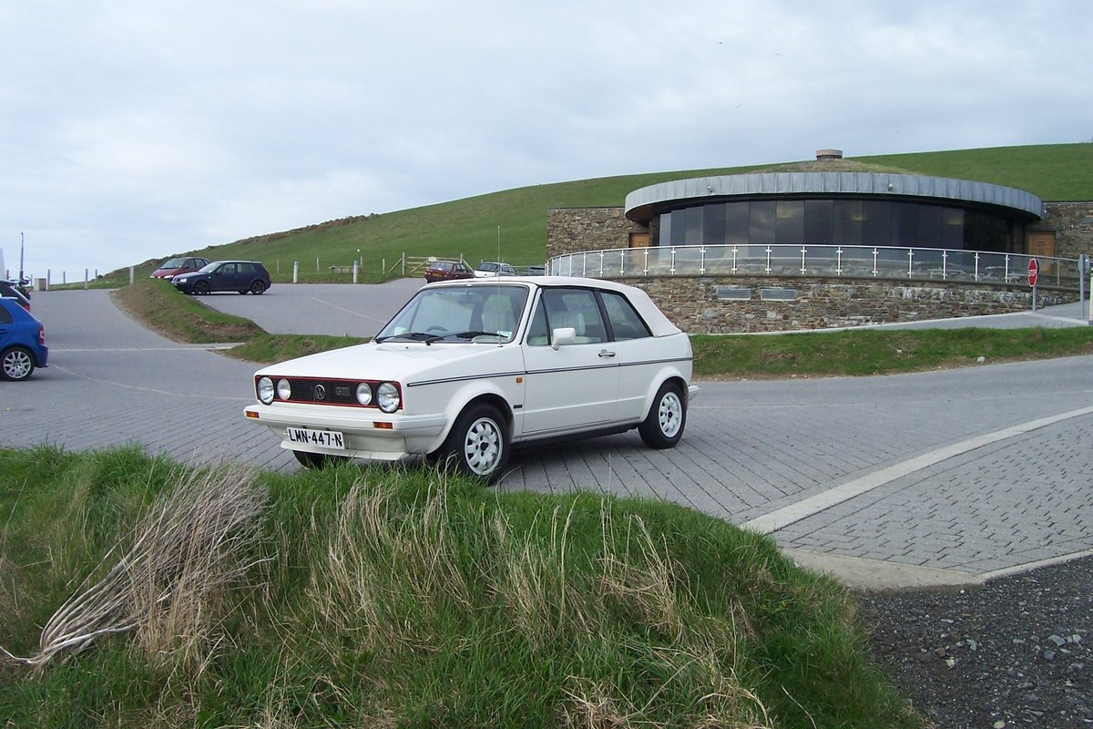 MK1 Vw Golf GTI  cabriolet, 1985 triple white For Sale (picture 1 of 6)
