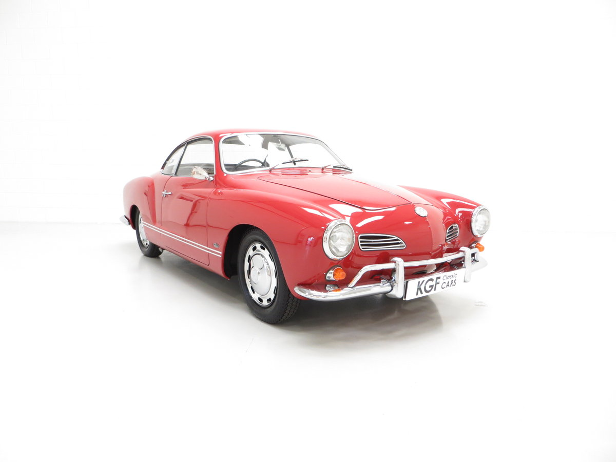 1966 A Multiple Concours Winning UK RHD Volkswagen Karmann Ghia SOLD (picture 1 of 6)