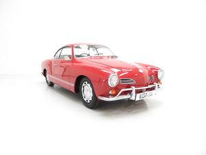 1966 A Multiple Concours Winning UK RHD Volkswagen Karmann Ghia For Sale