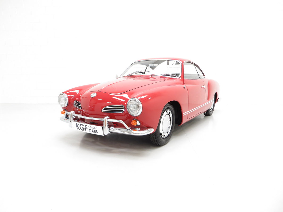 1966 A Multiple Concours Winning UK RHD Volkswagen Karmann Ghia For Sale (picture 2 of 6)