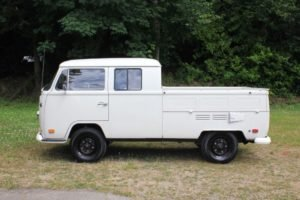 1970 Volkswagen Crew Cab Solid Ivory Driver Auto Rare $29.9k For Sale