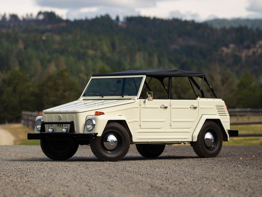 1973 Volkswagen Type 181 Thing  For Sale by Auction (picture 1 of 6)