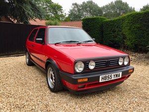 Golf MK2 GTI 3dr 8v 1991 Big Bumper 1 Owner RED For Sale